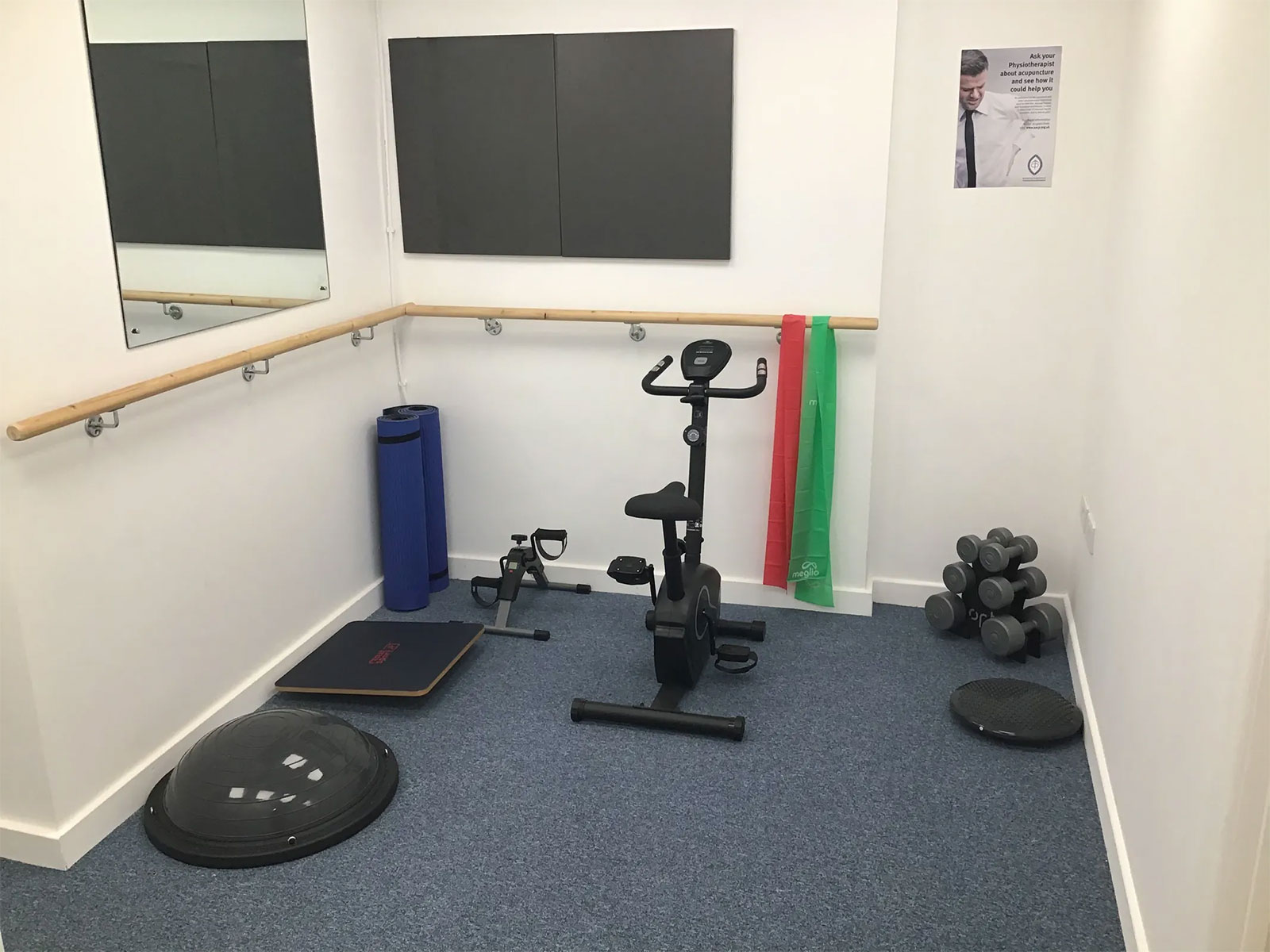 Physiotherapy clinic with gym in Ferndown